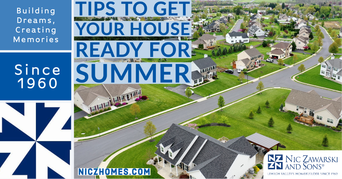 Tips to Get Your House Ready for Summer