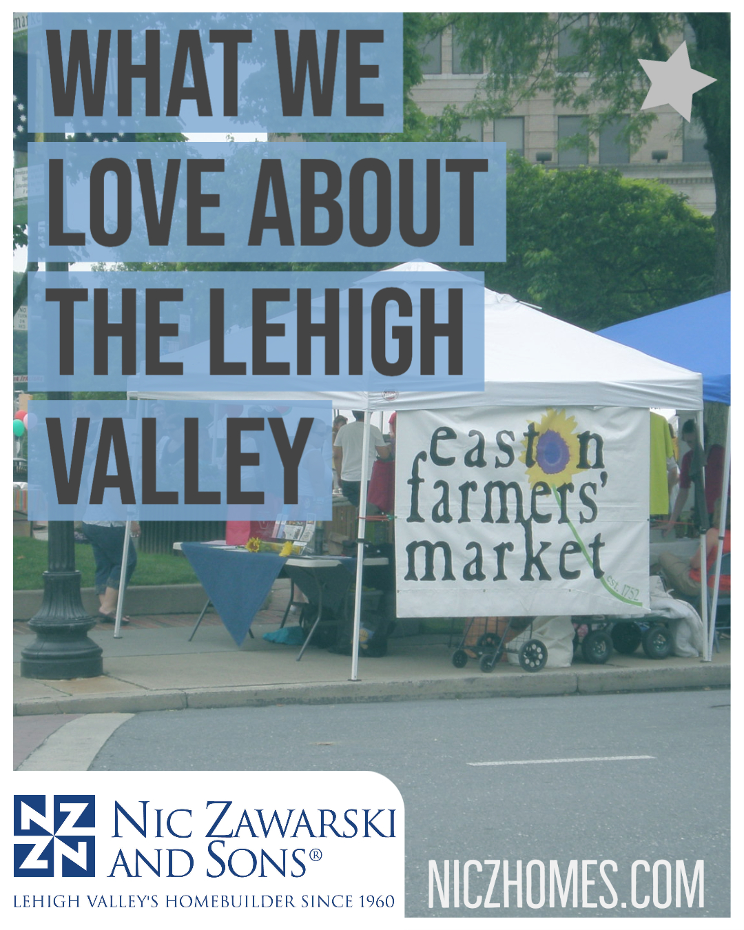 What We Love About Living In The Lehigh Valley: Easton Farmers' Market