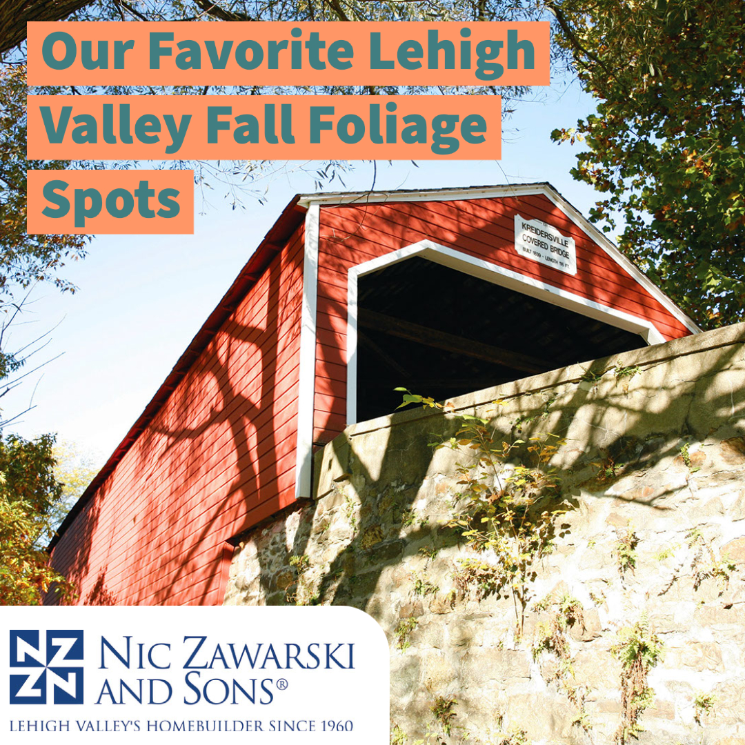 See the Lehigh Valley's Best Fall Foliage in these Spots