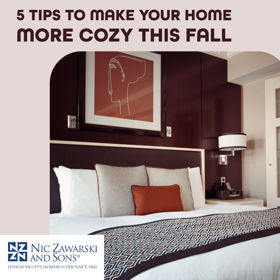 5 Tips To Make Your Home More Cozy This Fall